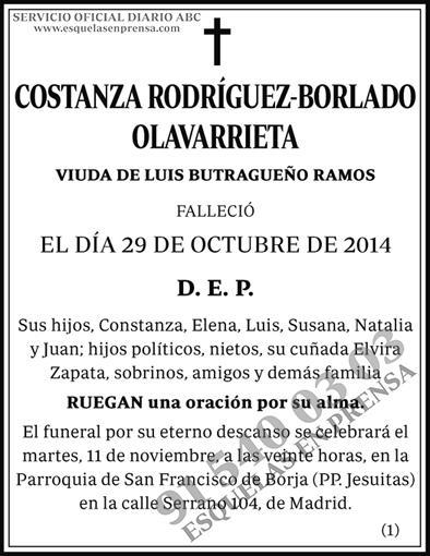 Costanza Rodríguez-Borlado Olavarrieta